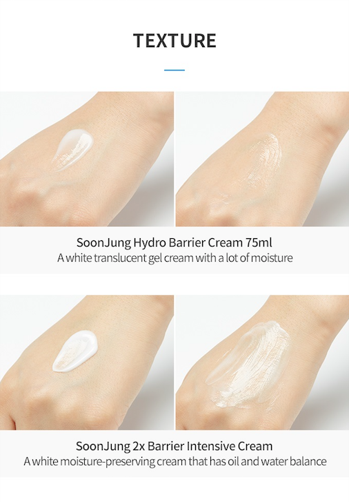 Etude House Soon Jung Hydro Barrier Cream Set (Limited Edition) - Olive Kollection