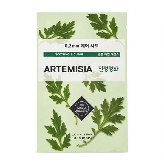 Etude House 0.2 Therapy Air Mask - Artemisia - Olive Kollection