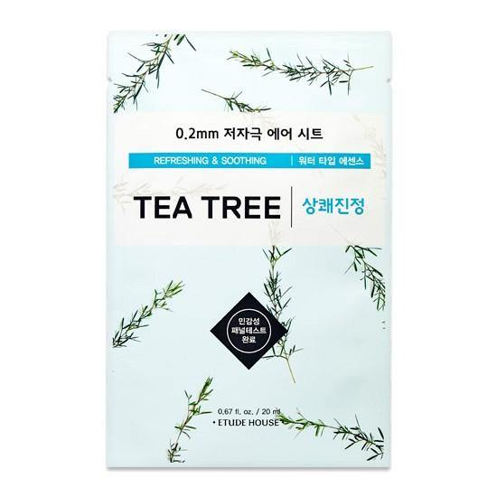 Etude House 0.2 Therapy Air Mask - Tea Tree - Olive Kollection