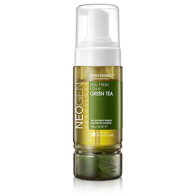 Neogen Real Fresh Foam Cleanser Green Tea - Olive Kollection