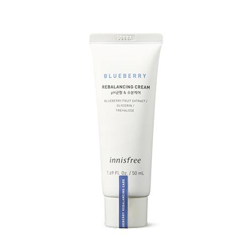 Innisfree Blueberry Rebalancing Cream - Olive Kollection