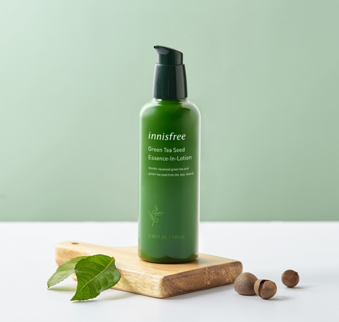 Innisfree Green Tea Seed Essence-In-Lotion - Olive Kollection