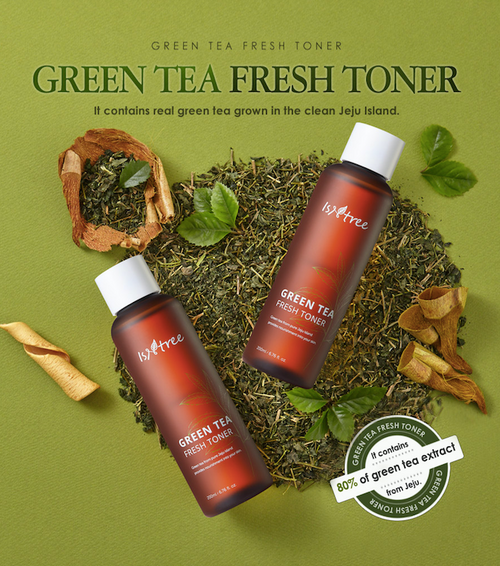 Isntree Green Tea Fresh Toner - Olive Kollection