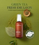Isntree Green Tea Fresh Emulsion - Olive Kollection