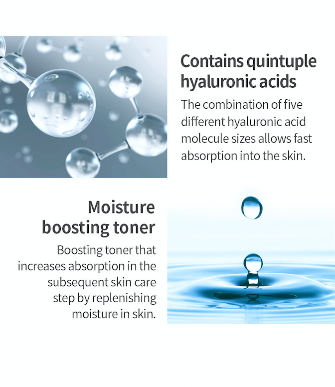 Isntree Hyaluronic Acid Toner Plus - Olive Kollection