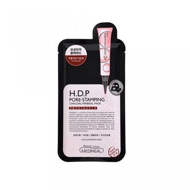 Mediheal H.D.P Pore Stamping Charcoal Mineral Mask - Olive Kollection