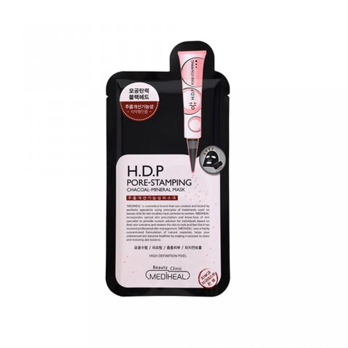 Mediheal H.D.P Pore Stamping Black Mask - Olive Kollection
