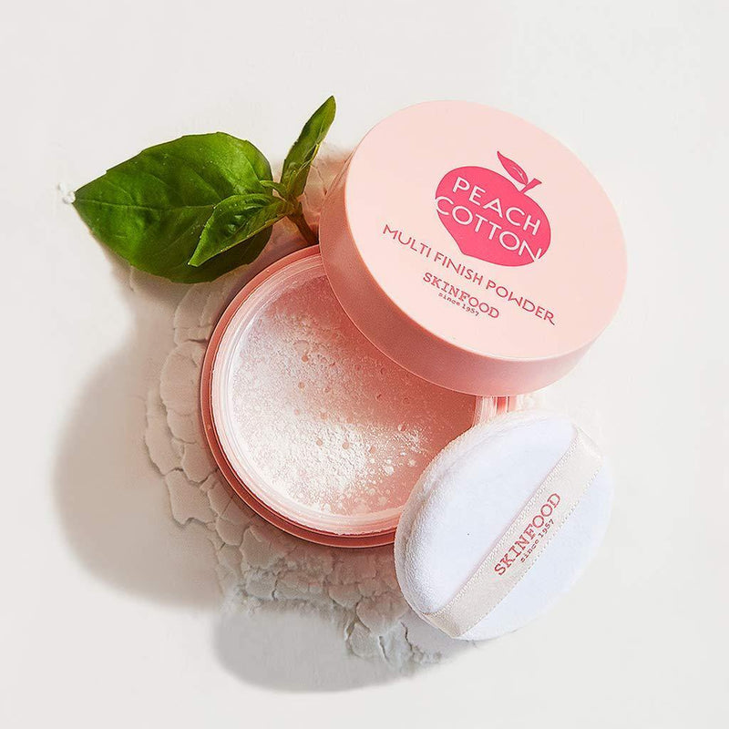 Skinfood Peach Cotton Multi-Finish Powder - Olive Kollection