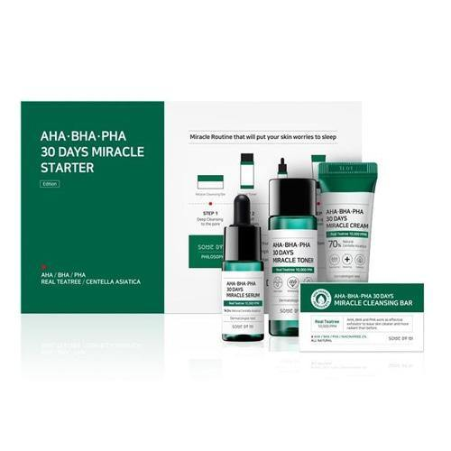 SOME BY MI AHA BHA PHA 30 Days Miracle Starter Kit Edition - Olive Kollection