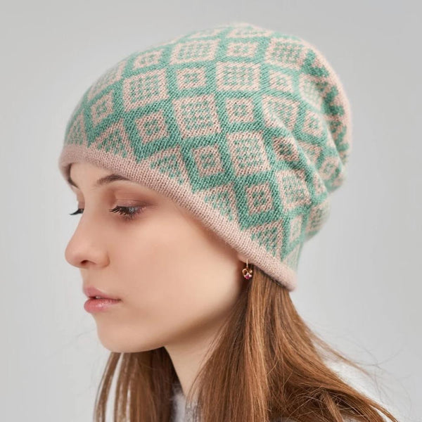 Color double-sided beanie