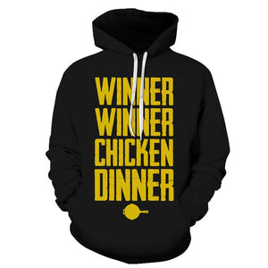 Winner Winner Chicken Dinner 3D Hoodies