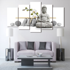 LIMITED EDITION Buddhism  Modern Canvas Painting
