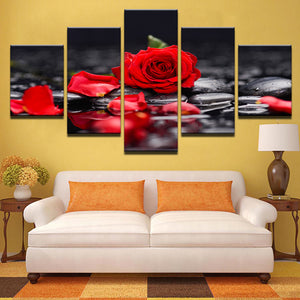 LIMITED EDITION Rose Canvas 3D Painting