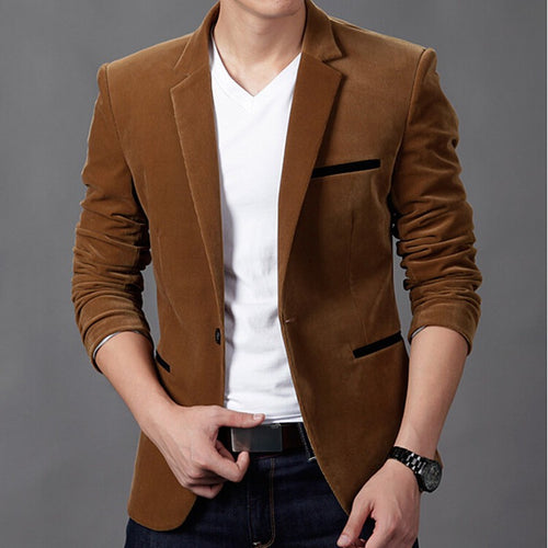 corduroy Blazer men