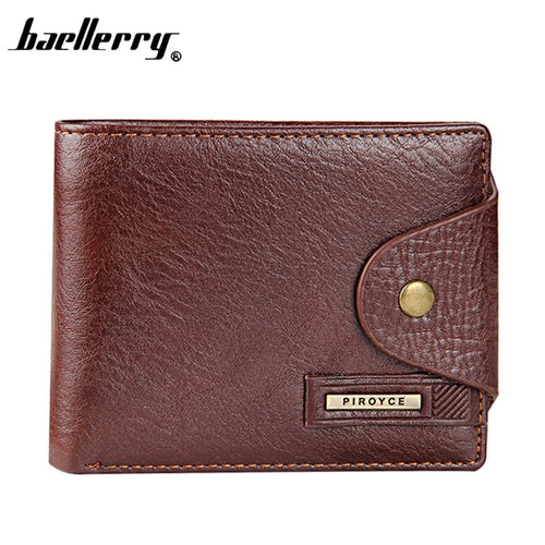 High quality short men's wallet