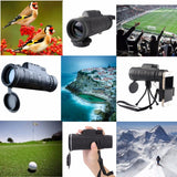 HD Optical Zoom High Power Magnification Monocular Scope