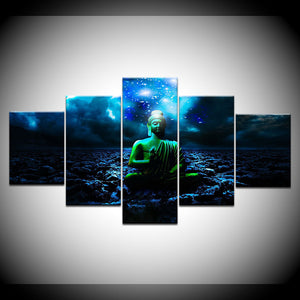 Lord Buddha 3D HD Canvas
