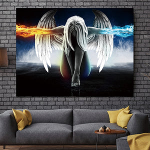 LIMITED EDITION Angel  Canvas Painting