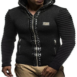 Casual Zipper Hooded Jackets