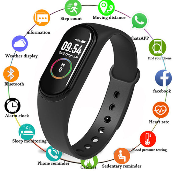 M4 Smart Bracelet Bluetooth for Android IOS