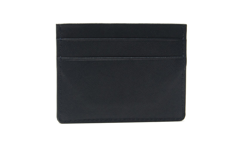 Black Saffiann 5 Pocket Card Case