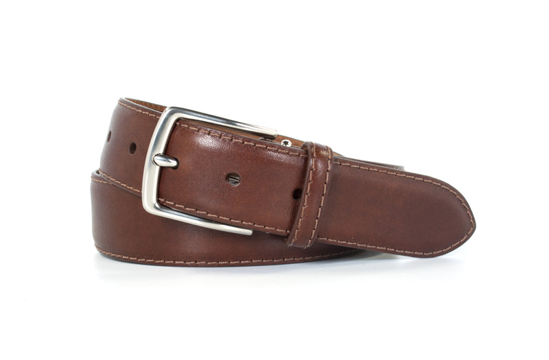 Brown Aniline Leather Belt
