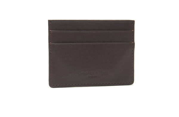 Chocolate 5 Pocket Card Case