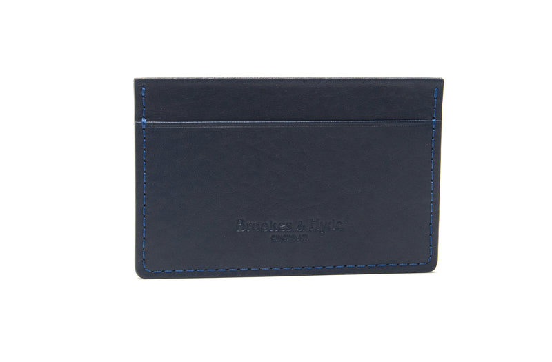 Navy 3 Pocket Card Case