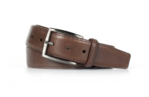 Chocolate Leather Belt