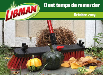 Libman Canada Newsletter - Octobre 2019
