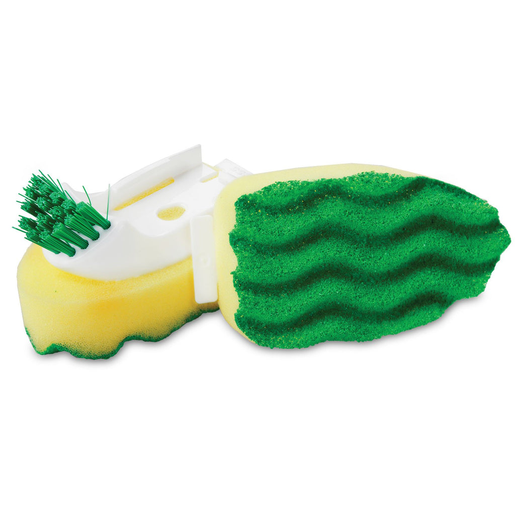 POT & PAN SCRUBBING DISH WAND WITH SCRUB BRUSH REFILLS