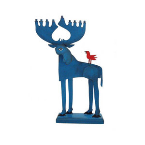 Moose Menorah Acme Animal