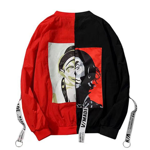 Two-Face Windbreaker