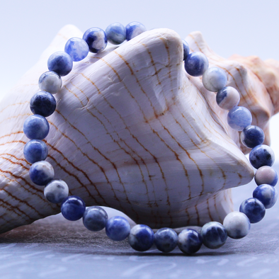 Sodalite Stretch Bracelet Bracelet - Favored Whispers