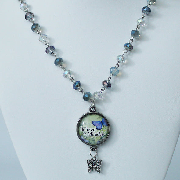 Believe in Miracles Beaded Necklace Necklace - Favored Whispers