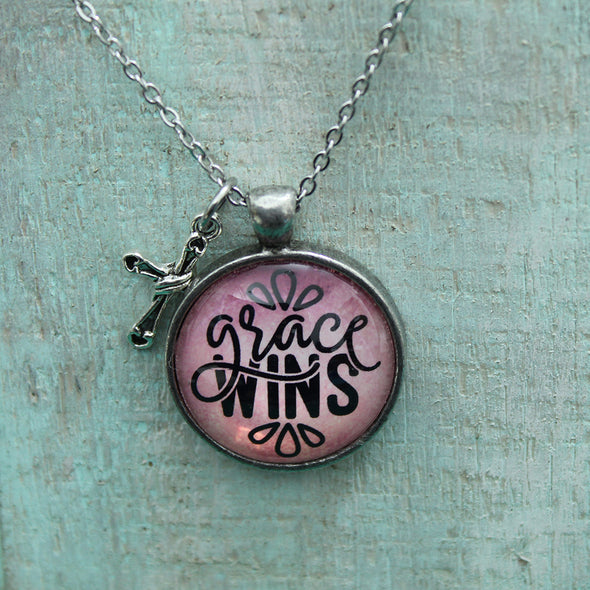 Grace Wins Necklace Necklace - Favored Whispers