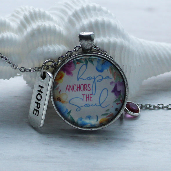 Hope Anchors the Soul Necklace Necklace - Favored Whispers