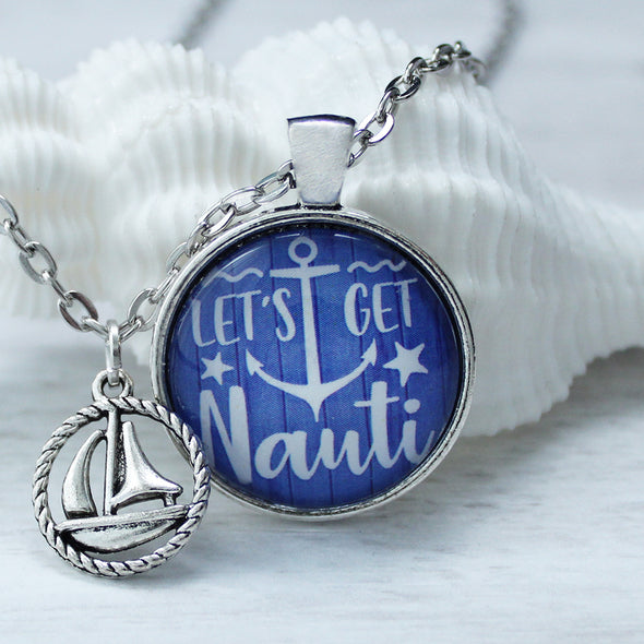 Let's Get Nauti Necklace