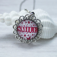 the power of a smile, inspirational jewelry, favored whispers
