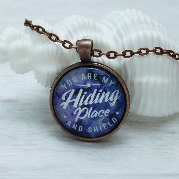 You Are My Hiding Place and Shield Necklace