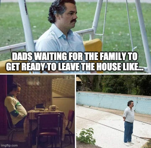 narcos Father's Day meme