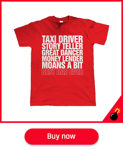 taxi dad fathers day gift