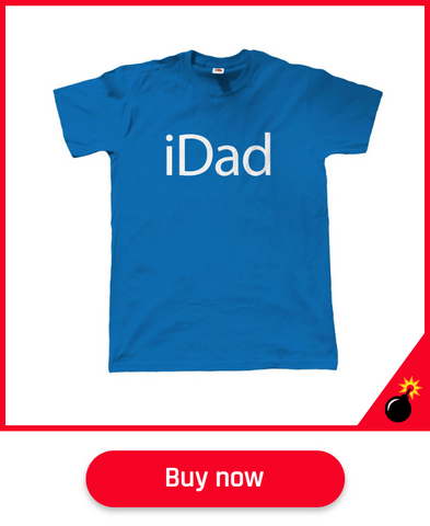 apple t shirt for dads fathers day gift