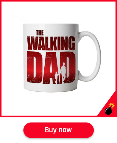 walking dead mug father's day gift
