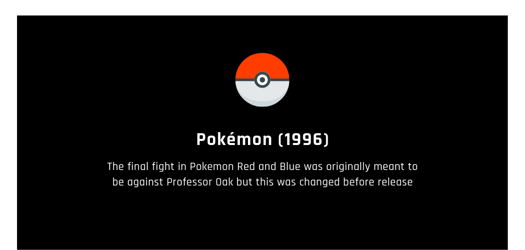 Gaming facts you didn't know pokemon