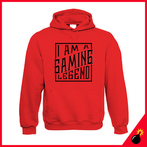 Gaming legend hoodie gifts for gamers