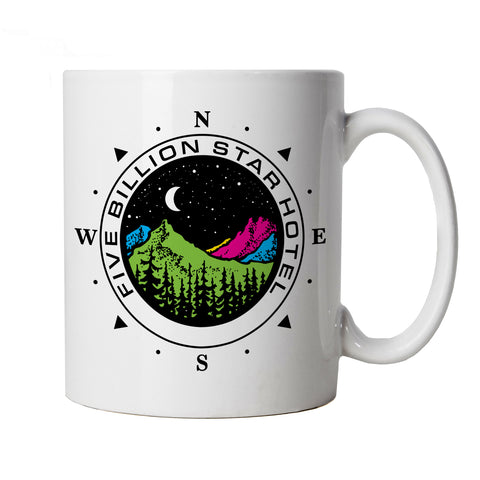 Five Billion Star Hotel Campervan Camping, Mug | bus Motorhome Overland Expedition Camping Camp | Vanlife Bay Window Split Screen van splitty | Campervan Cup Gift
