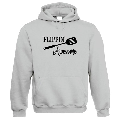 Flippin Awesome Hoodie | Cake Scone Bread Pastry Biscuit Pie Patisserie | Star Baker Bake Off Soggy Technical Showstopper | Baking Food Gift Him Her Birthday