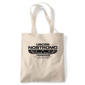 USCSS Nostromo Alien Movie Inspired Tote Reusable Bag