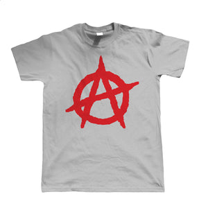 Anarchy Symbol, Mens T-Shirt